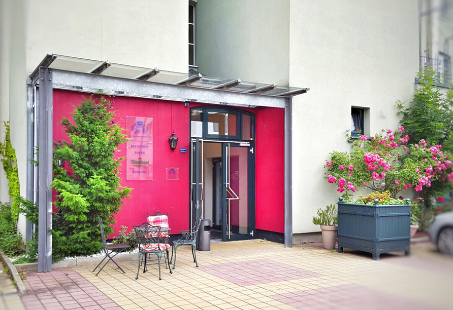 The Royal Inn Regent Gera in Thüringen, Eingangsbereich