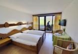 Hotel Bellevue in Seelisberg, Vierwaldstättersee, Schweiz, Beispieldoppelzimmer