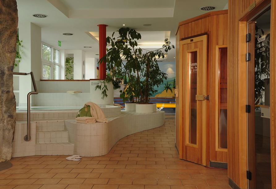 Hotel Müggelsee Berlin in Berlin Köpenick, Wellnessbereich