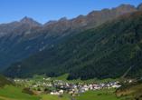 Alpenromantik-Hotel Wirler Hof in Galtür, Panorama
