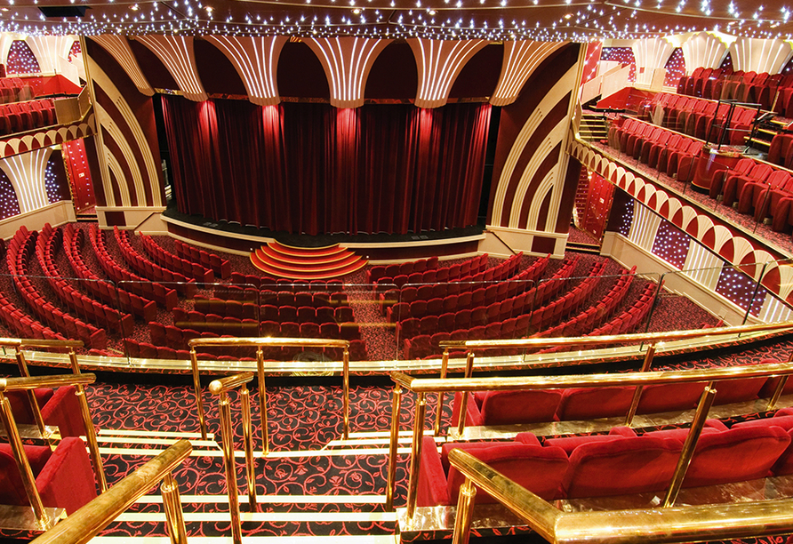 MSC Musica, Teatro la Scala