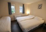 Ferienpark De Scherpenhof, Beispiel Schlafzimmer Chalet Komfort