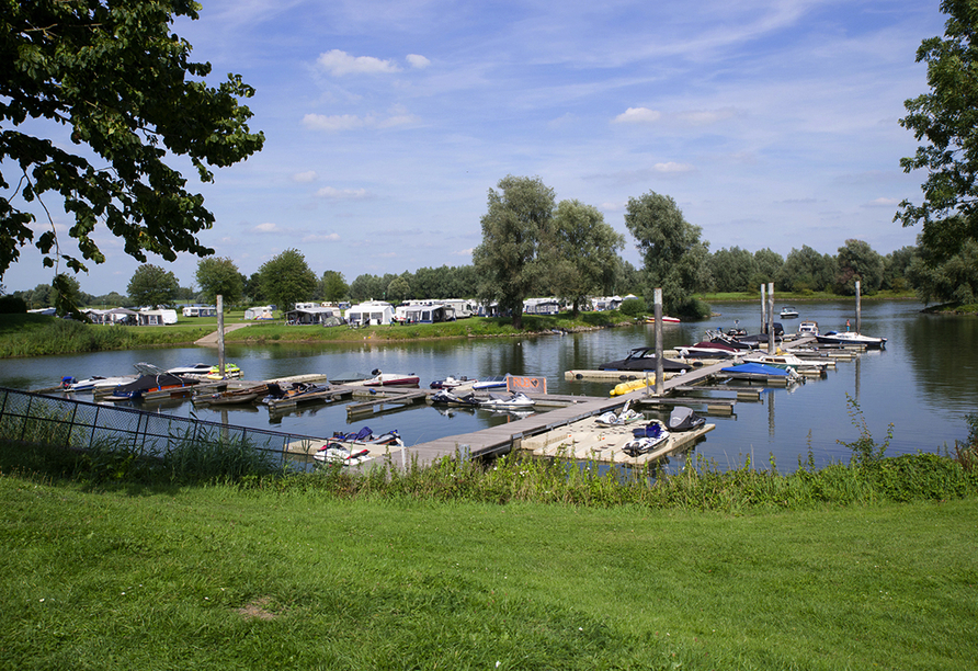 Ferienpark De Scherpenhof, Hafen