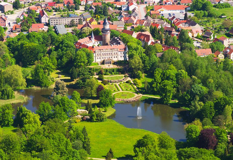 Ferien Hotel Fläming in Niemegk, Wiesenburg