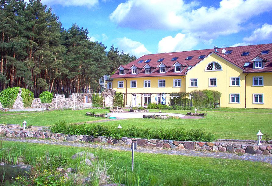 Ferien Hotel Fläming in Niemegk, Terrasse