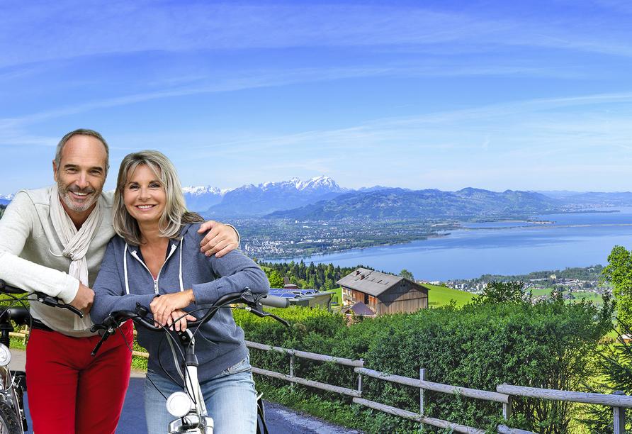 Bodensee Radreise, Bregenz