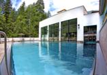 Aktivhotel Waldhof in Oetz, Tirol, Außenpool