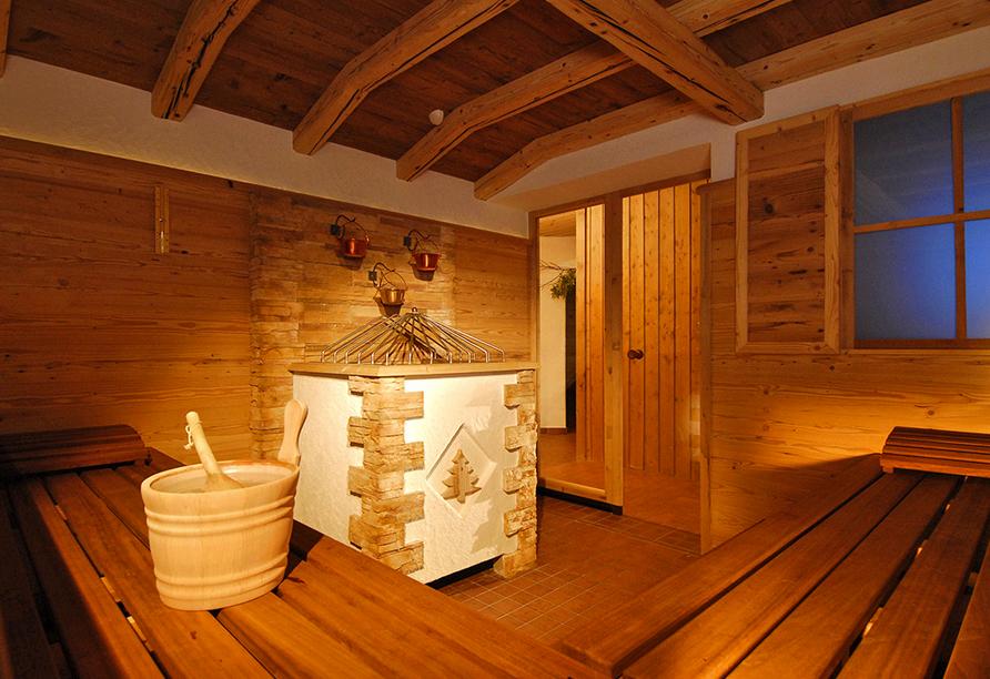 Aktivhotel Waldhof in Oetz, Tirol, Sauna