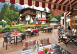Aktivhotel Waldhof in Oetz, Tirol, Terrasse