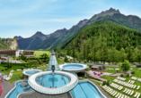 Aktivhotel Waldhof in Oetz, Tirol, Aqua Dome