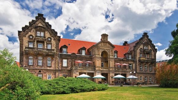 Hotel Himmelsscheibe & Schloss Nebra, Außenansicht