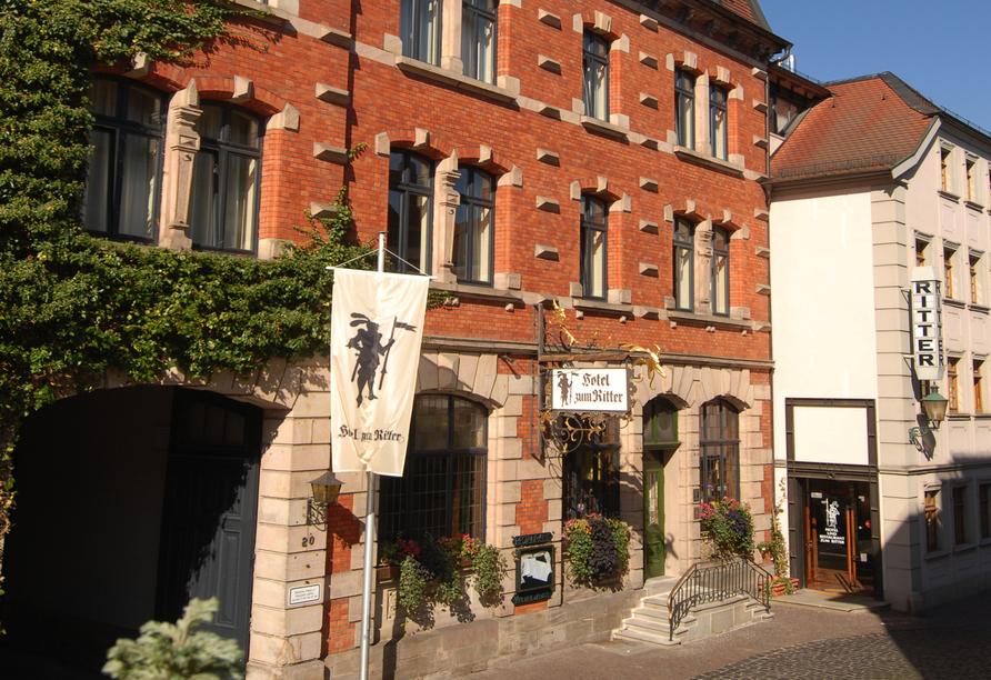 Hotel Zum Ritter in Fulda, Außenansicht