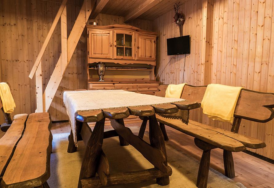 Schwanen Resort in Baiersbronn, Sitzecke