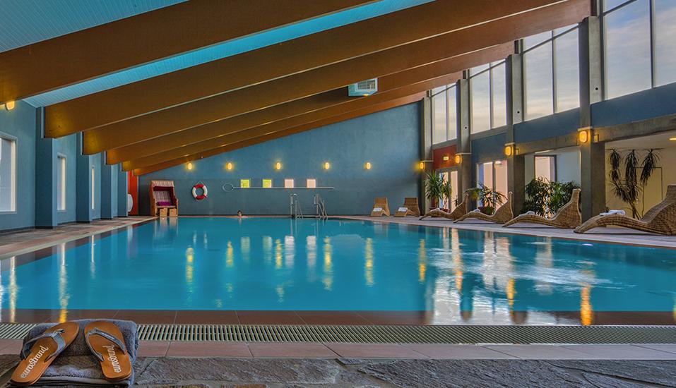 Eurostrand Resort Moseltal in Leiwen an der Mosel, Hallenbad