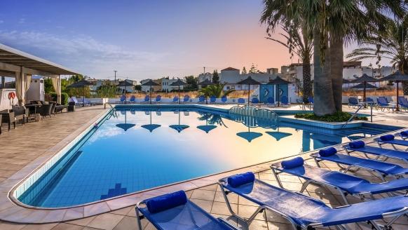 Hotel Hara Ilios Village in Gouves, Außenpool