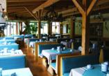 Waldhotel Seebachschleife in Bayerisch Eisenstein im Bayerischen Wald, Restaurant