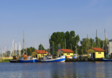 Hotel Pension Zum Himmel in Rubenow an der Ostsee Hafen