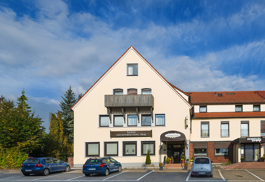 Land-gut-Hotel Sockenbacher Hof in Waldbrunn im Odenwald Außenansicht
