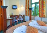 Hotel Saigerhütte in Olbernhau im Erzgebirge, Zimmerbeispiel