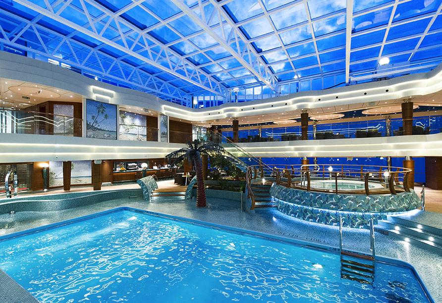 MSC Preziosa, Pool