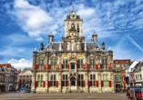 Stadt, Strand, Tulpen Tour, Delft