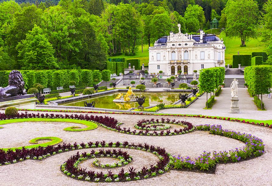 Post Hotel Mittenwald, Schloss Linderhof