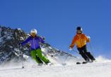 Post Hotel Mittenwald, Skifahren am Karwendel