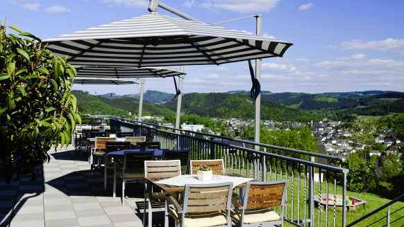 PHÖNIX Hotel Bergneustadt, Terrasse