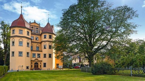 Schlosshotel Althörnitz in Bertsdorf-Hörnitz in der Oberlausitz Außenansicht