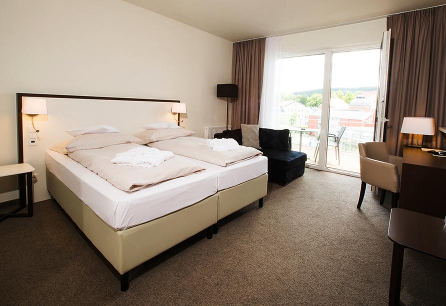 Hotel König Albert in Bad Elster, Beispiel Doppelzimmer Superior