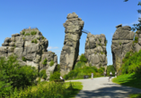 Wohlfühlhotel DER JÄGERHOF  in Willebadessen im Teutoburger Wald, Externsteine