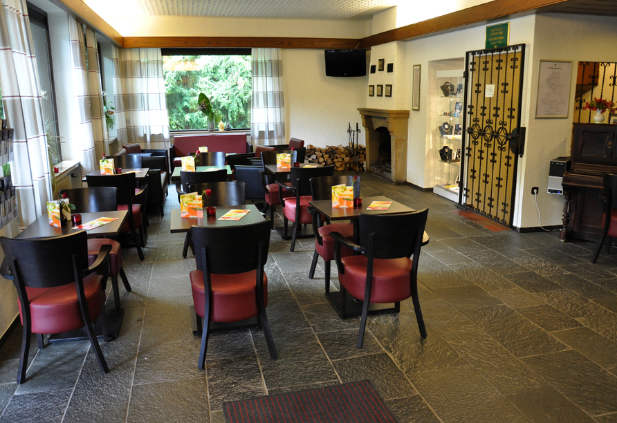 Wohlfühlhotel DER JÄGERHOF in Willebadessen im Teutoburger Wald, Lobby