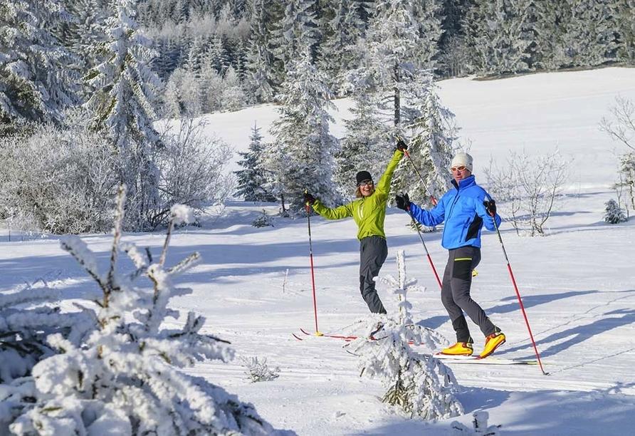 Das Falkenstein Inzell Bayern, Skilanglauf