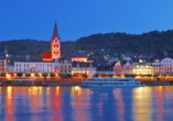Hotel L´Europe Boppard, Blick auf Boppard