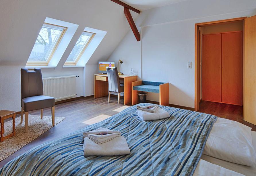 Hotel Luther Birke Wittenberg, Beispiel Doppelzimmer