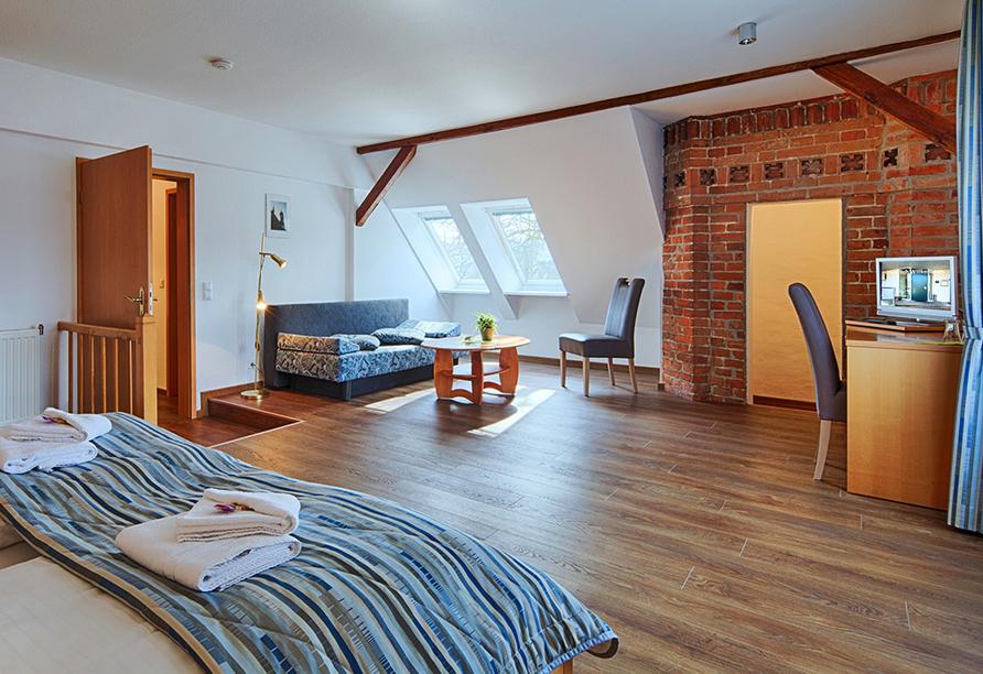 Hotel Luther Birke Wittenburg, Familienzimmer-Suite