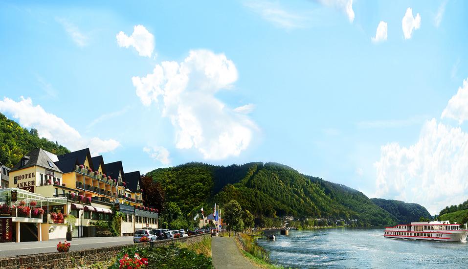 Hotel Anker in Brodenbach an der Mosel Außenansicht