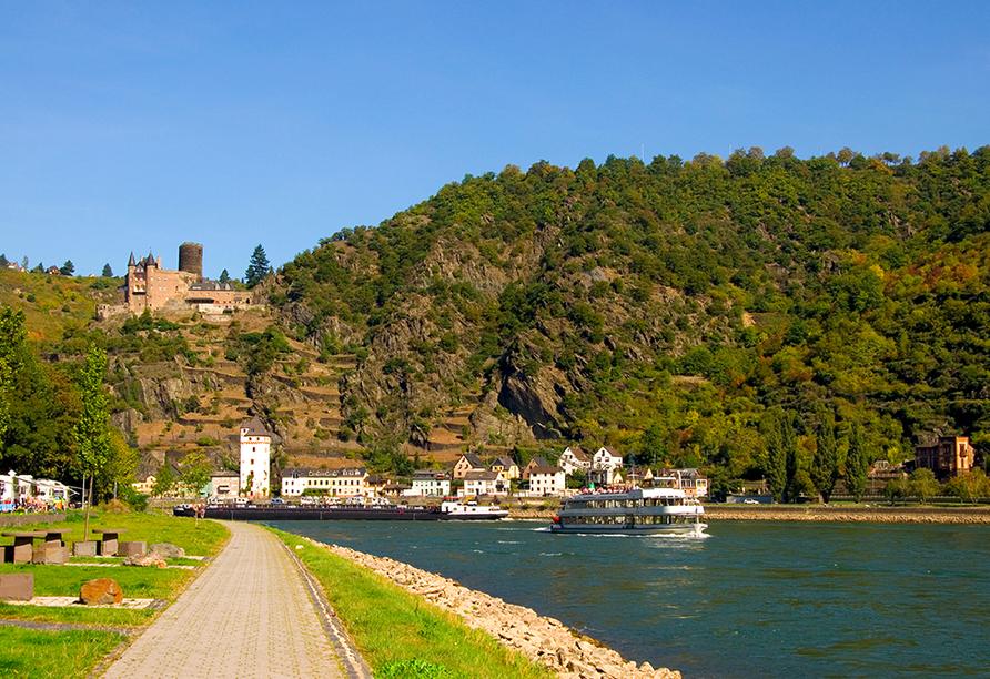 Burg Katz Loreley