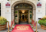 Best Western Premier Grand Hotel Russischer Hof, Eingangsbereich