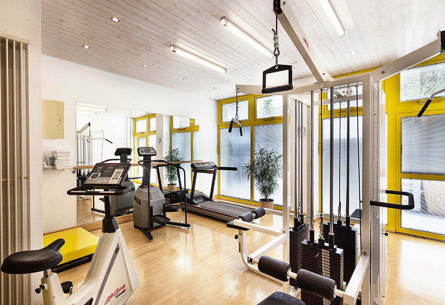 Best Western Premier Grand Hotel Russischer Hof, Fitnessraum