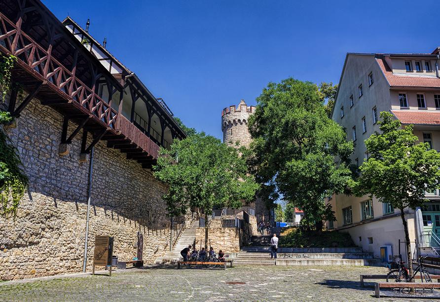 Best Western Premier Grand Hotel Russischer Hof, Stadtmauer Jena