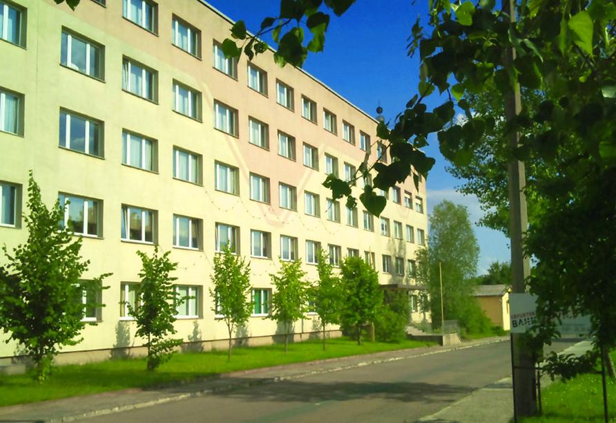 Hotel Trias in Karsdorf an der Weinstraße, Außenansicht vom Hotel Trias