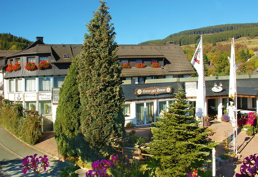 Hotel Haus zur Sonne, Außenansicht