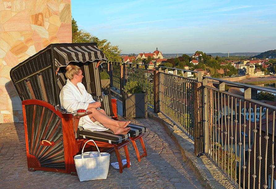 Romantikhotel Burgkeller in Meißen Sachsen, Entspannen