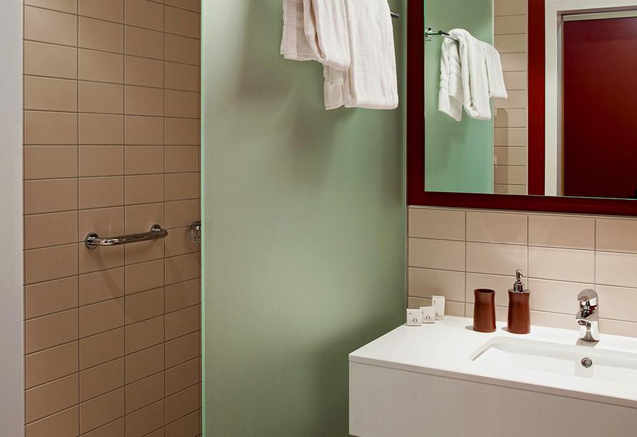 Hotel Ochsen 2 in Davos Platz, Beispiel Badezimmer