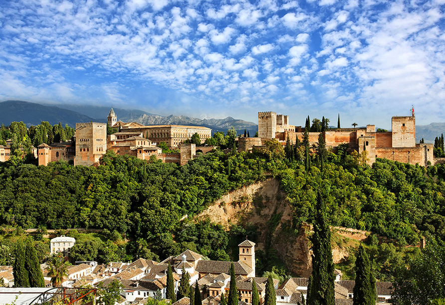 Busrundreise Temperamentvolles Andalusien, Alhambra in Granada