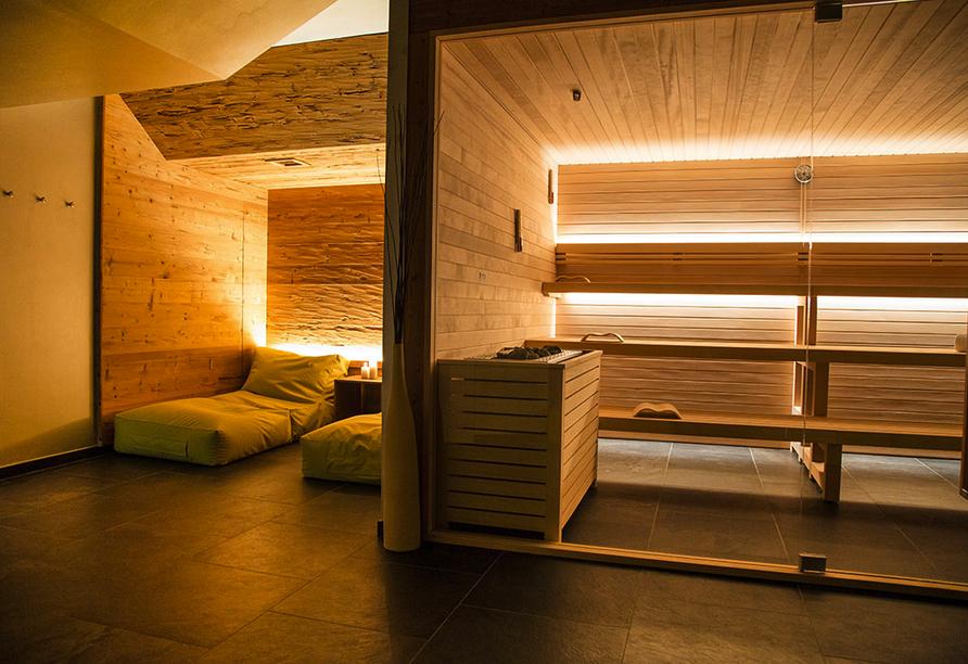 Linta Hotel Wellness & Spa in Asiago Trentino-Südtirol, Wellnessbereich