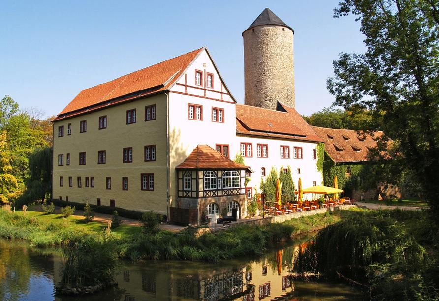 Wasserschloss Westerburg Harz, Außenansicht