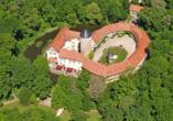 Wasserschloss Westerburg Harz, Luftansicht