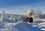 Winter, Schmalspurbahn